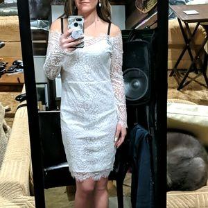 BNWT Sexy White Lace Dress